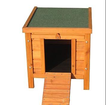 GYYL Mascota de Madera Jaula Perrera Al Aire Libre Sólido Abeto Natural Conejo Jaula Casa de Perro Casa de Gato Casa de Pollo 002: Amazon.es: Deportes y ...