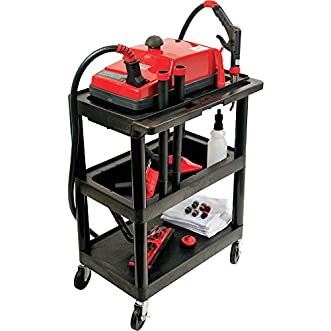 AmeriVap Vapor Blitz II Commercial Steam Cleaner with Luxor Cart, Model# VB-IIB