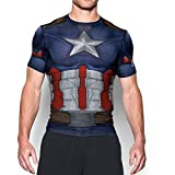 Under Armour Alter Ego Captain America Compression LG Midnight Navy