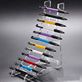 TOMUM 12 Layers Clear Acrylic Display Stand for