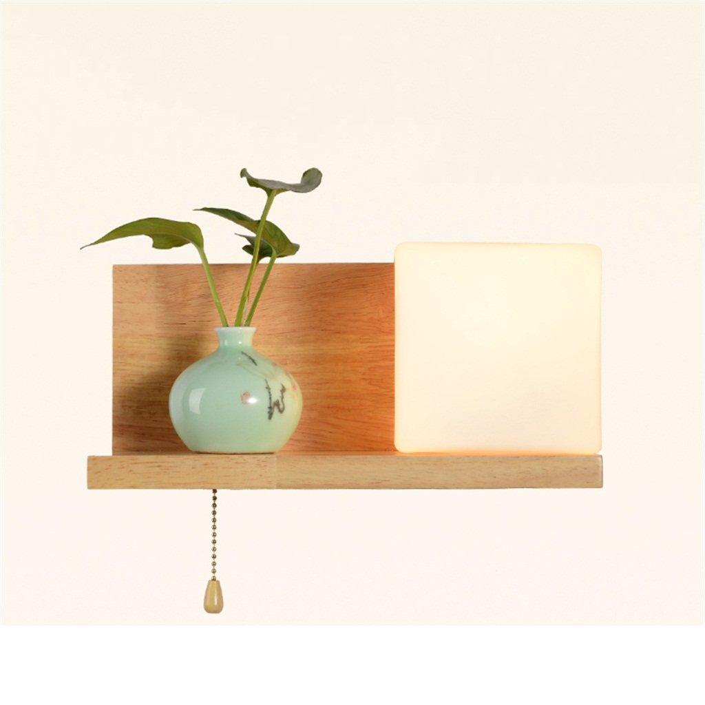 CXM-Wall lamp Nordic Style Nachttischlampe Wandleuchte führte Europa Wärme Schlafzimmer Hotel Beleuchtungskurs Wohnzimmer Treppen Wandleuchten (Farbe   Left Style)