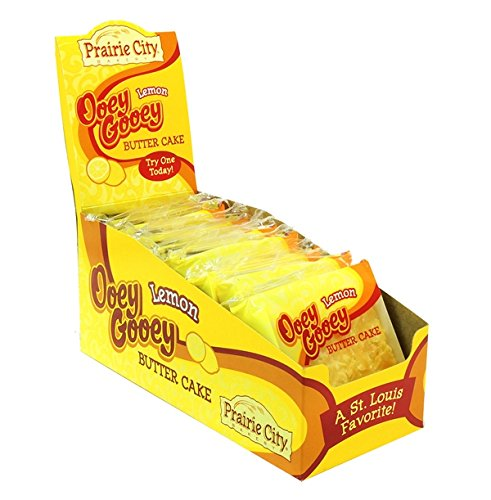Prairie City Ooey Gooey Lemon Butter Cake , 10 Count (CAKES & MUFFINS)