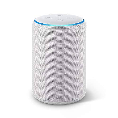 Echo Plus (2da generación) - Sonido de alta calidad y hub de Casa Inteligente integrado, gris claro