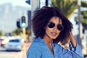 Cheapass Gafas de Sol Piloto Redondas con Espejos UV400 Sin Montura Lisas Hombre Mujer