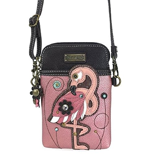 Charming Bird Chala Phone Bag Mini Cell Fancy Crossbody Purse Flamingo xPwgq4xAr
