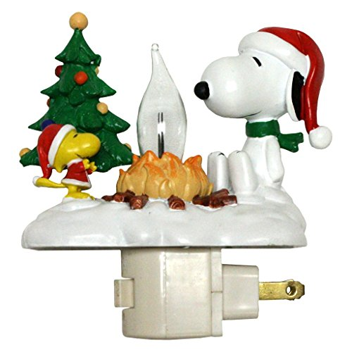 Peanuts 4-1/4-Inch Snoopy and Woodstock at Campfire Nightlight (165013) for $<!--$19.95-->