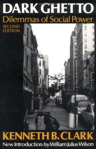 Books : Dark Ghetto: Dilemmas of Social Power