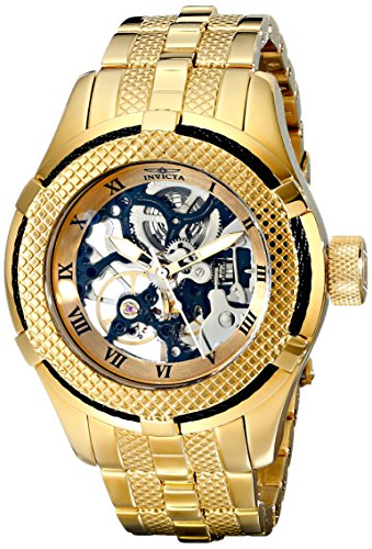 Invicta Women's 17176 Bolt 18k Gold Ion-Plated Stainless Steel Watch