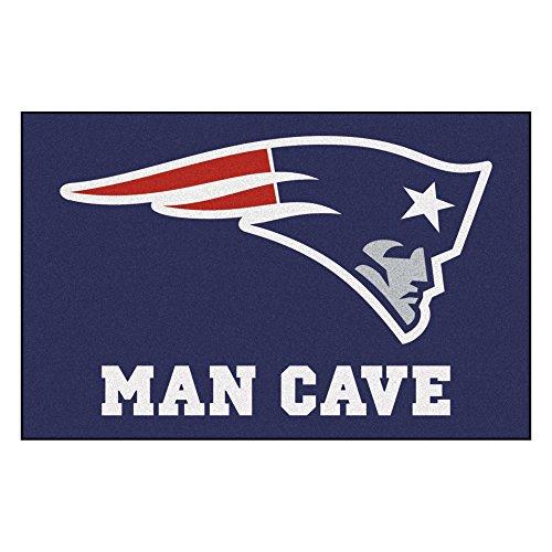 Fanmats 14333 NFL New England Patriots Nylon Universal Man Cave Starter Rug (Rug Floor England)