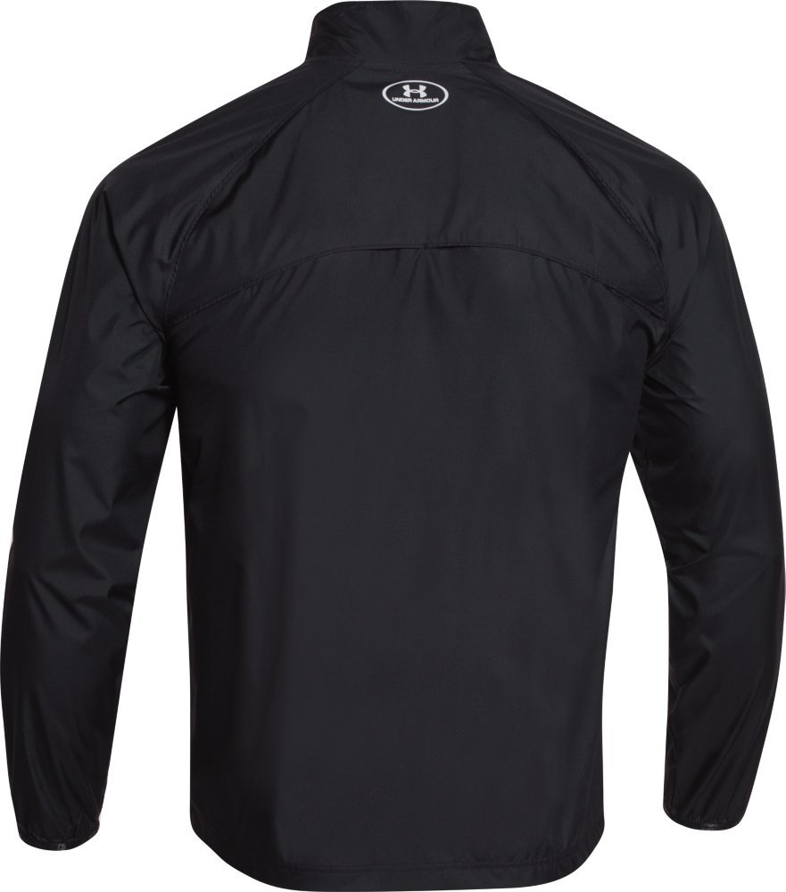 Under Armour Men's Storm Launch Run Jacket, Black (001)/Reflective, Large by Under Armour (Image #3)
