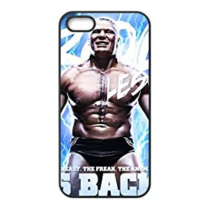 Happy WWE Wrestling Fighter Black Phone Case for Iphone 5s