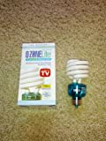 Ozone Lite Oz2355 23 Watt CFL Air Purifier Light Bulb NEW Eliminate Odors Smoke Kill Bacteria