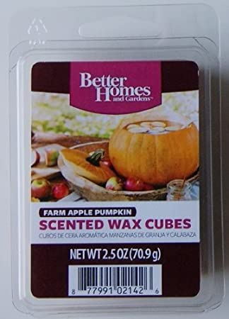 excellent better homes and gardens scented wax cubes. Better Homes and Gardens Farm Apple Pumpkin Scented Wax Cubes Amazon com