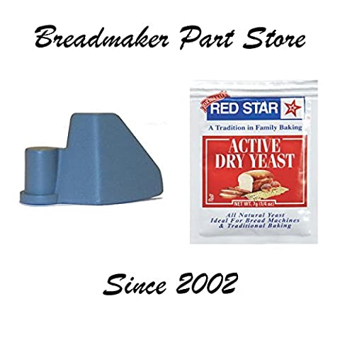 New Kneading Paddle for Toastmaster MODEL # TBR15 Fast Bake Horizontal 1.5-Lb Loaf Capacity Automatic Breadmaker Replacement Part Bread Maker Machine Dough Blade Arm P/N 21495 [Kneader/Yeast - Replacement Paddle