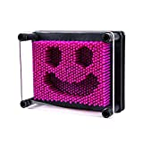 Bargain World 3.75'' X 5'' Purple Plastic Pin Art Game (With Sticky Notes)
