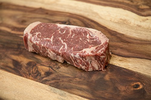 Southern Meat Co - Premium USDA Choice Angus New York Strip Steak (Pack of FOUR 14 oz NY Strips)