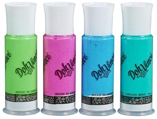 play-doh DohVinci Deco Pop 4 Pack Refill (ピンク/パープル/グリーン/オレンジ)   B00QVHI6T8