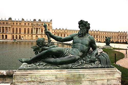 Home Comforts Peel-n-Stick Poster of Sculpture Palace of Versailles Versailles Palace Vivid Imagery Poster 24 x 16 Adhesive Sticker Poster -