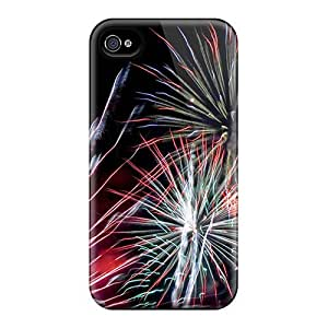Fashionable iphone 5 5s Case Cover For Fire Works Protective Case