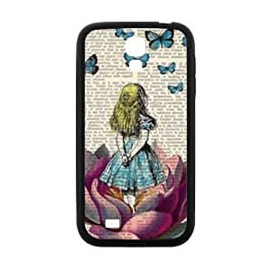 Lovely butterfly girl Cell Phone Case for Samsung Galaxy S4