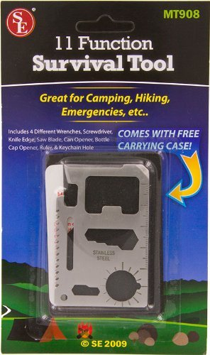 11 Function Camping Hiking Emergency Survival Tool