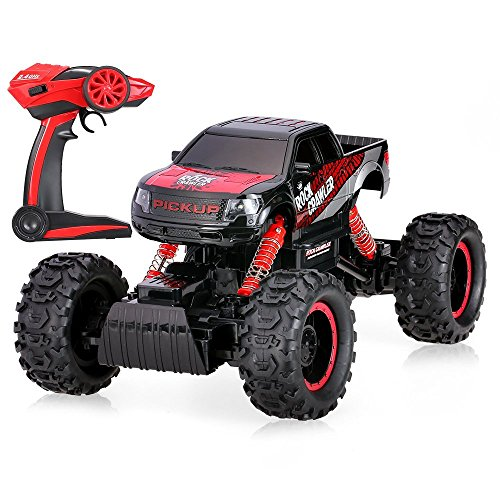 Goolsky-114-Scale-4WD-Rock-Crawler-Electric-Offroad-RC-Truck-24Ghz-High-Speed-Remote-Controlled-Car-with-LED-Lights