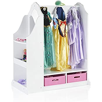 Amazon Com Guidecraft See And Store Dress Up Center