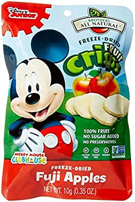 Brothers-ALL-Natural Mickey Mouse Crisps - Apple - 0.35 oz - 12 ct