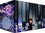 Heroes & Witches Urban Fantasy Multi-Author Boxed Set: Urban Fantasy novels about witches and wizards, shifters, mages, ghosts, angels, demons, mutants, ... and Super Powers Book 1) (English Edition)