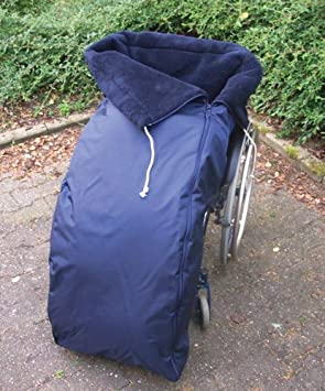 ORGATERM Saco térmico para silla de ruedas, con pelo sintético: Amazon.es: Salud y cuidado personal