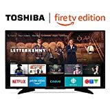 Toshiba 43LF621C19 43-inch 4K Ultra HD Smart LED TV with HDR - Fire