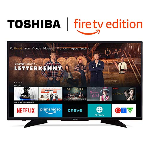 Toshiba 43LF621C19 43-inch 4K Ultra HD Smart LED TV with HDR - Fire TV Edition