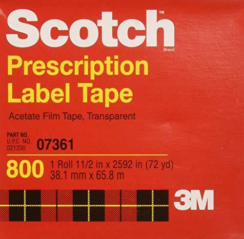Scotch Acetate Film Tape, 1-1/2