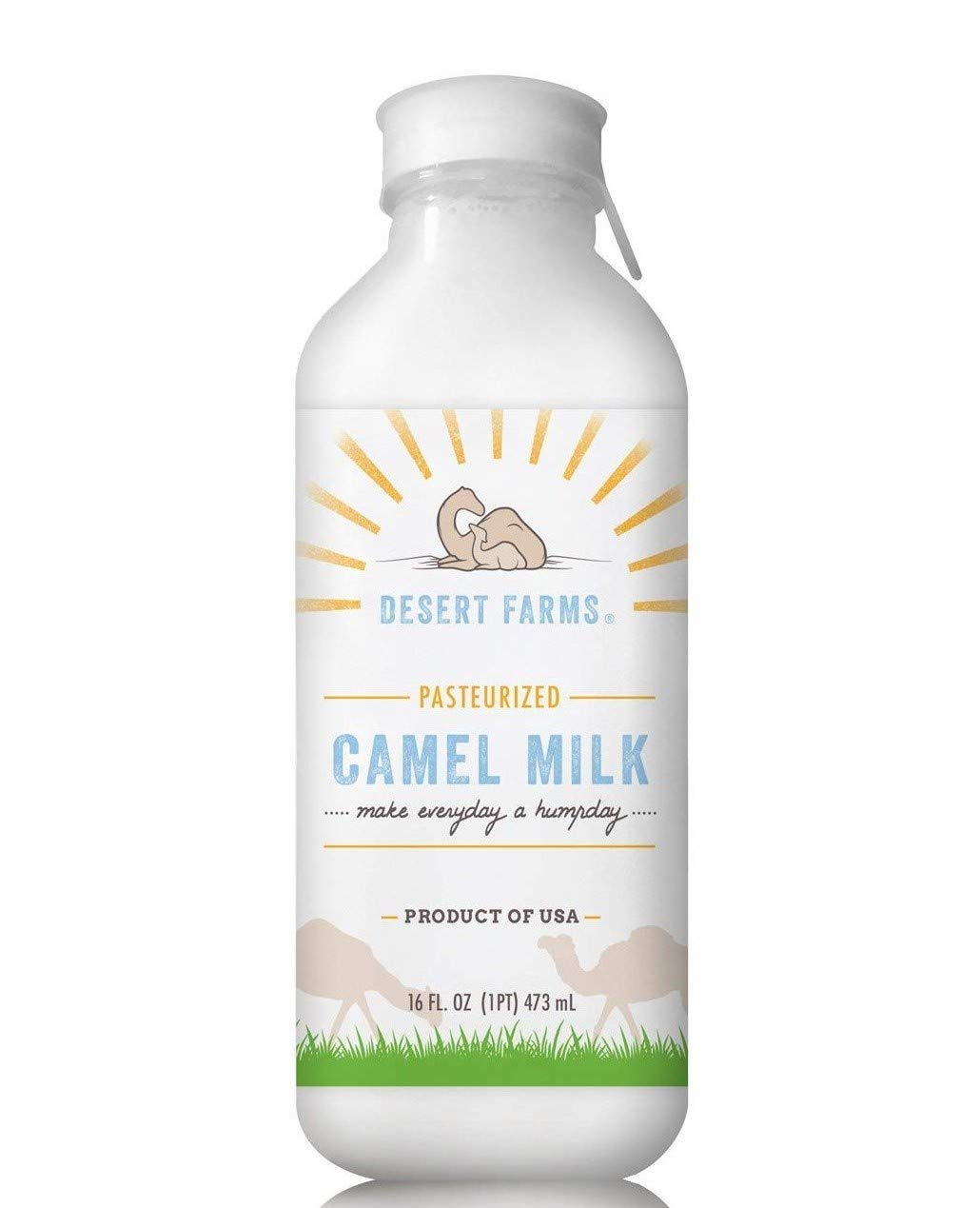 Desert Farms - Organic Whole Frozen Camel Milk - Raw & Natural - Gently Pasteurized - Made In The USA [6 Pack] by Desert Farms