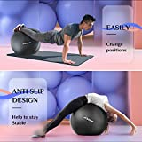 Trideer Extra Thick Yoga & Exercise Ball, 5 Sizes