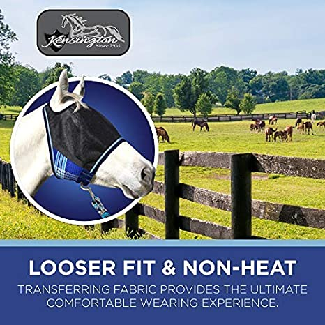 Kensington UViator Protective Fly Mask with Removable Nose and Ears