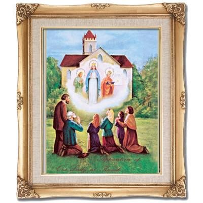 Our Lady of Knock Framed Art by Discount Catholic Store