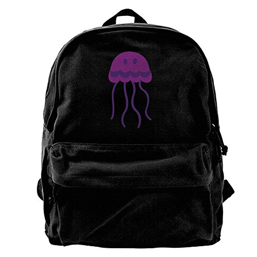 Cute Jellyfish Clipart Pet Gift Unisex Classic Water Resistant School Rucksack Travel Backpack Laptop (Pet Clipart)