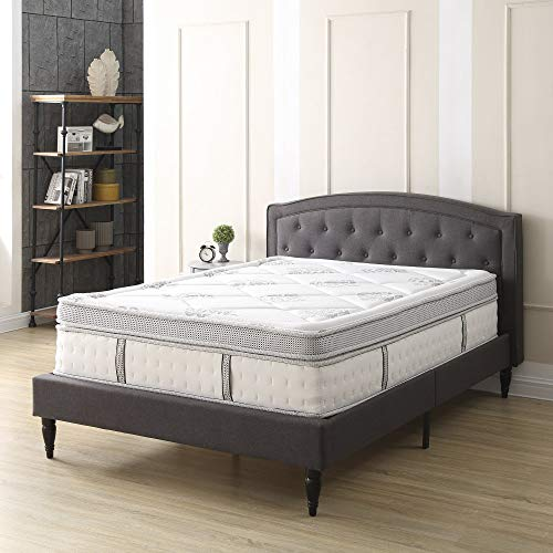 Classic Brands Gramercy Euro-Top Cool Gel Memory Foam and Innerspring Hybrid 14-Inch Mattress, King (Mattress Euro Top King)