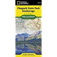 Chugach State Park, Anchorage (National Geographic Trails Illustrated Map)