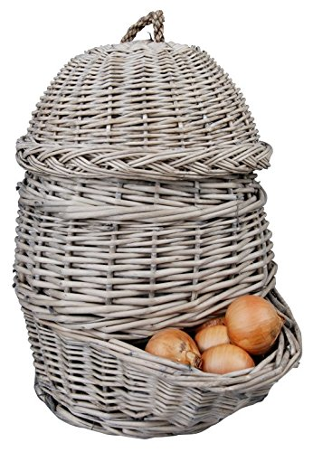 Esschert Design Onion Basket, Gray
