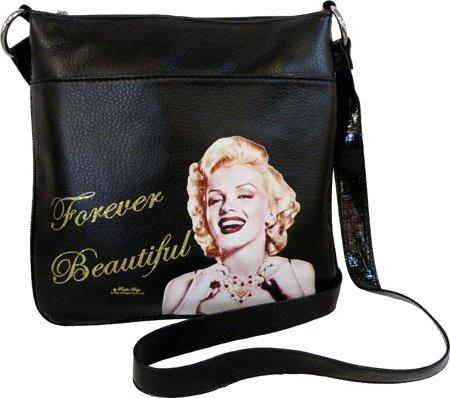 Women's Monroe Messenger Monroe MR7 Bag Signature Black Marilyn Product Marilyn tPqOF
