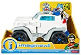 Fisher-Price Imaginext Teen Titans Go! Cyborg & Transforming Battle Rig Vehicle