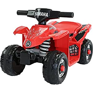 Yamaha Kids YFZ450R ATV 6V Battery Powered Ride On Quad, Red