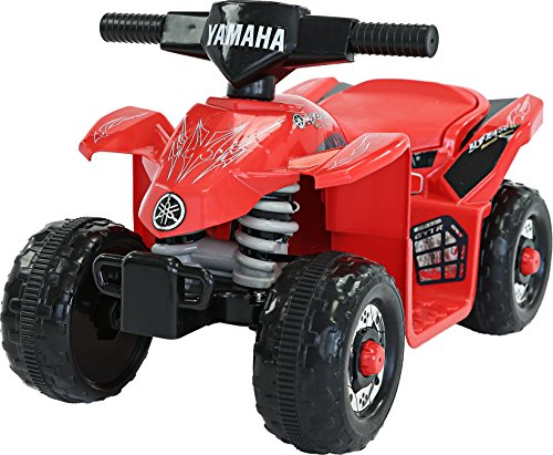 Yamaha Kids YFZ450R ATV 6V Battery Powered Ride On Quad, Red (Atv Motor Yamaha)