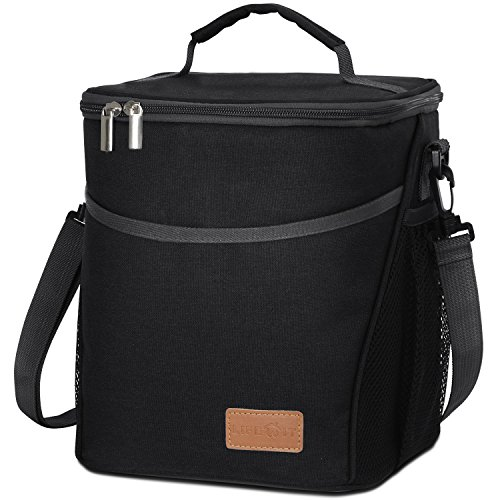 Lifewit Insulated Lunch Box Lunch Bag for Adults / Women / Men, Large Capacity Thermal Bento Bag for Office / School / Picnic, 9L, - Hot Office Men