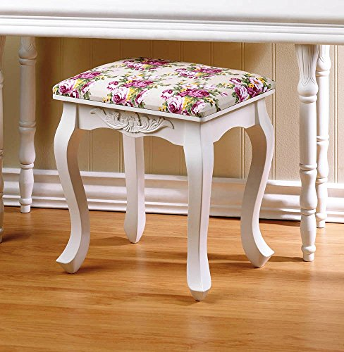 Smart Living Company Home Locomotion Floral Oasis Stool