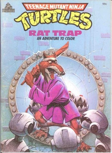 (Rat Trap: An Adventure to Color (Teenage Mutant Ninja)