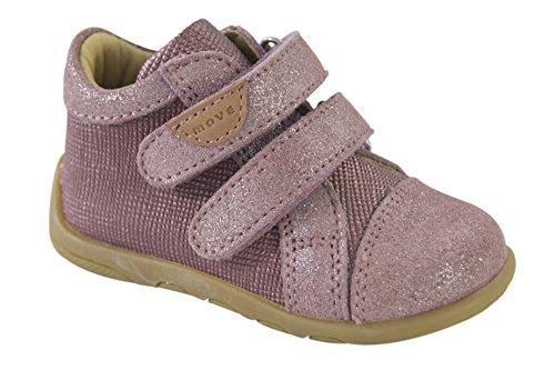 MOVE Infant Unisex Velcro Shoe - Botas de senderismo Bebé-Niños Pink (Red Sorbet)