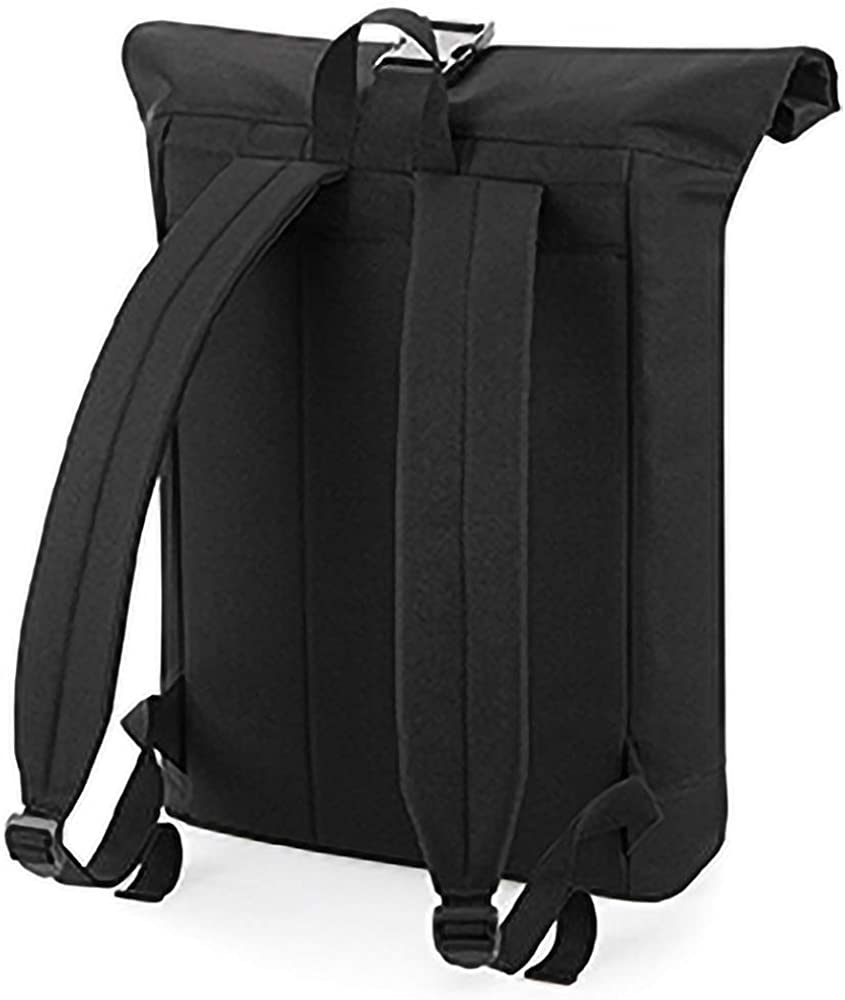 BagBase mens Bagbase Unisex Roll Top Backpack Rucksack